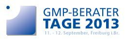 GMP-BERATER Tage 2013
