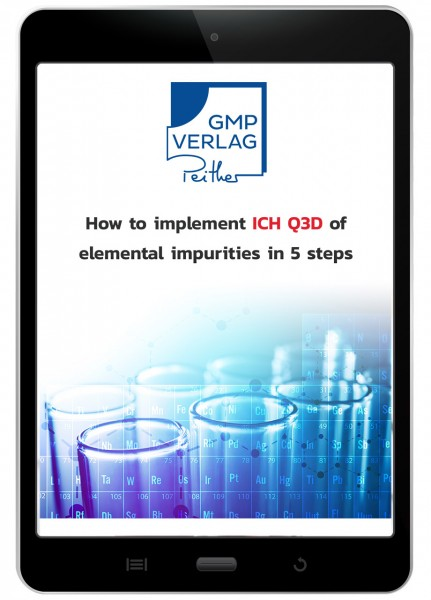 How to implement ICH Q3D of elemental impurities in 5 steps (free manual)