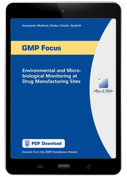 Environmental and Microbiological Monitoring at Drug Manufacturing Sites
